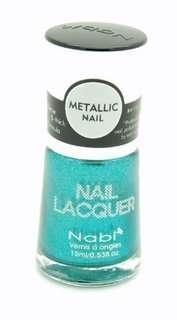 Lot of 3 NABI Metallic Nail Polish Lacquer   30 COLORS