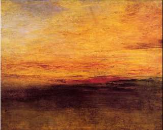 sonnenuntergang 1830 von joseph mallord william turner 1775 1851