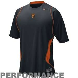 Nike San Francisco Giants Black Nike FIT Performance Training