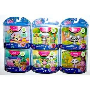 Pc. Series Collection Littlest Pet Shop Fanciest Pets Toys & Games