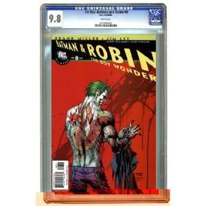 All Star Batman and Robin #8 Jim Lee Cover CGC 9.8 Toys & Games