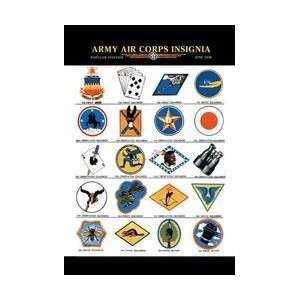 Army Air Corps Insignia 20x30 poster