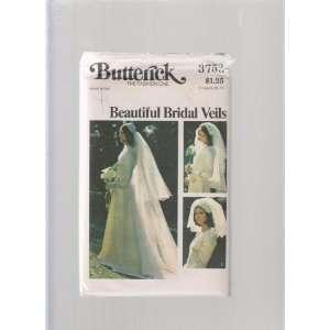 Wedding Bridal Veil ; Butterick Sewing Pattern 3753