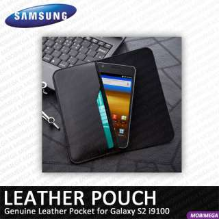 name samsung genuine leather pouch case ef c1a2lbecstd galaxy s2