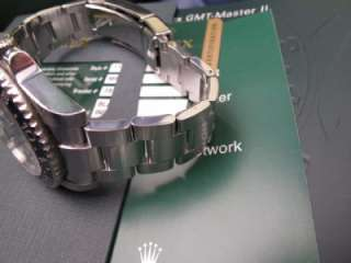 2008 Rolex GMT Master II Black Dial Ref. 116710 Box & Papers M Serial