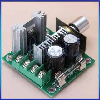 12V 40V 10A PWM DC Motor Speed Controller w/ Knob13 KHz
