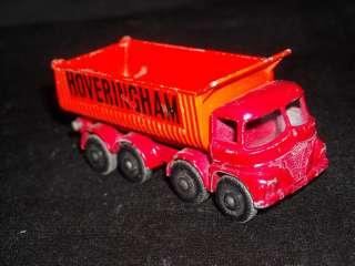 Vintage Lesney Matchbox No.17 Hoveringham Tipper Truck