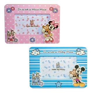 Baby  Picture Frame on Free Shipping Disney Baby Boy Girl Mickey Minnie Mouse Photo Frame