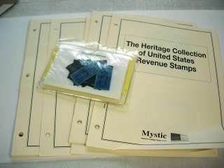US, OLD Mint NH Cigarette Tax Revenue Stamps & others. Purchased from
