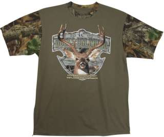 Ducks Unlimited T Shirt Camo Buck Deer Hunting New NWT