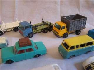 12 Vintage Lesney Matchbox Cars Hillman Minx Mercedes Vauxhall Cresta