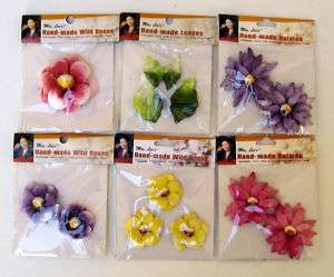 Mrs Mijun Lee Pre Made Tinted Paper Flowers Floral Art