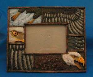 American Bald Eagle Picture Photo Frame AWESOME