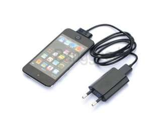 EU/US/AU USB Wall Charger Data Cable For iPhone 4G/3GS/3G/2G iPod