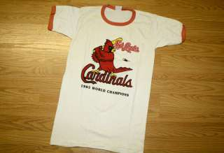 Vintage St Louis Cardinals T Shirt M 1985 Pujols MLB