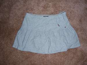 Womens American Eagle Blue/Green Mini Skirt Size 6