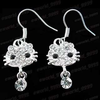 Xmas gift kitty Set Necklace bracelet earring FT174