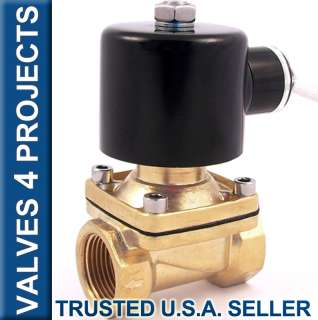 Electric Solenoid Valve 110 VAC Air, Water B21N