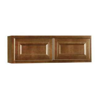 American Classics 36 In. Cognac Maple Wall Unit Kitchen Cabinet KW3612