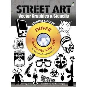 Street Art Vector Graphics & Stencils (Dover Electronic Clip Art