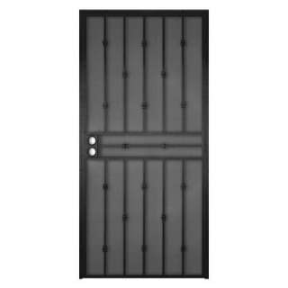 Home DesignsCabo Bella 32 in. x 80 in. Black Security Screen Door