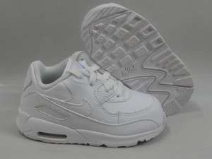 Nike Air Max 90 White Shoes Toddler Baby Size 3.5
