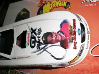 NHRA JOHN FORCE 1:24 Diecast Funny Car Bill Bader NORWALK Funny Car