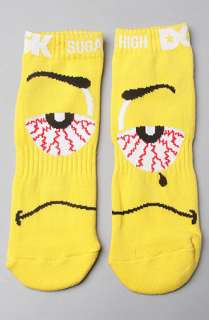 DGK The Sugar High 4Pack Socks in Royal Yellow Red Green  Karmaloop