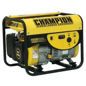Champion Power Equipmen 1200/1500 Wa CARB Porable Gas Generaor