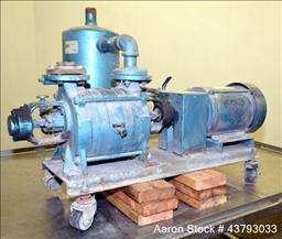 Used  Kinney 2 Stage Liquid Ring Vacuum Pump, Model KLR