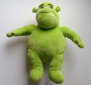 Shrek Third Build Bear Workshop Plush Green Doll 17