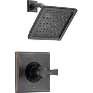 Handle 1 Spray Shower Only Faucet in Venetian Bronze Trim Kit Only