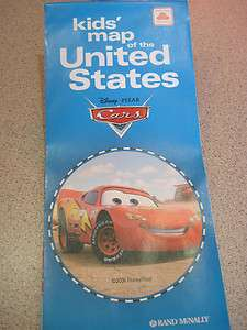 United States map US McQueen child Mater Rand McNally student
