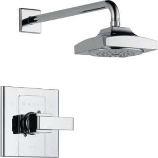Delta Arzo Single Handle 1 Spray Shower Only Faucet in Chrome Trim Kit