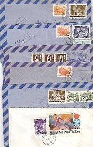 RUSSIAN 30 POST CARDS stamps 6 ENVELOPES w letters 60s