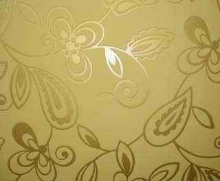 BAROCK Vlies Tapete rasch GOLD glänzend 747706 3,56€/m²