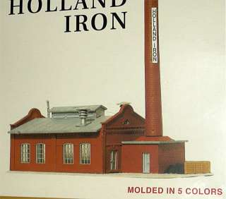 SCALE MODEL POWER HOLLAND IRON BUILDING KIT