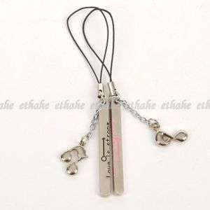 Music Notes Mobile Cell Phone Charm Strap Pair E1FAV0