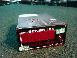 Sensotec Load Cell DRO Digital Readout Model Gm 060 3147 01 Range 0 5V
