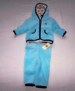 SMALL PAUL FRANK JULIUS INFANT PANT HOODIE SET 12 MONTH