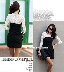 Stylish women cotton lace sexy shaped body T shirt top blouse tunic