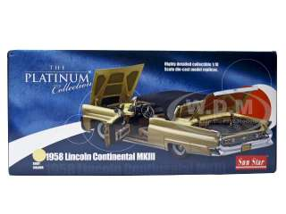car model of 1958 Lincoln Continental Mark III die cast car by