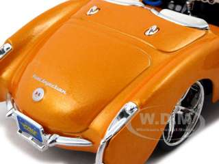 diecast car model of 1957 Chevrolet Corvette die cast car by Maisto