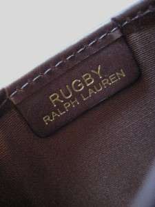 RUGBY RALPH LAUREN NWT Credit Business Card Case Wallet Holder Skull