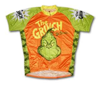 The Grinch Dr Seuss Cycling Jersey Mens XXXL 3X 3XL bicycle bike with