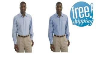 NWT NEW MENS LS ECO FRIENDLY BAMBOO DRESS SHIRT 2X 4X