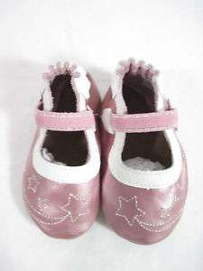 NIB ROBEEZ Soft Soul Collection Pink Childrens Shoes