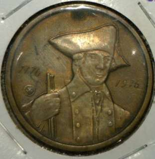 1776 1976 Bicentennial Commemorative BRONZE Medal John Paul Jones