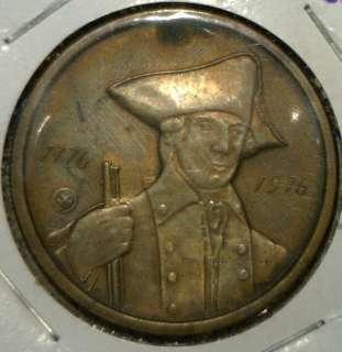 1776 1976 Bicentennial Commemorative BRONZE Medal John Paul Jones