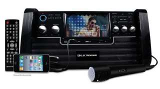 Electrohome EAKAR770 Portable Karaoke DVD/CD+G/ Player Speaker